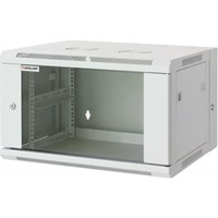 "19"" Double Section Wallmount Cabinet Gray RAL7035, 770 x 600 x 550 (mm)"