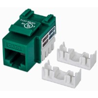 Cat6 Keystone Jack Green