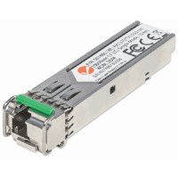 Gigabit Fiber WDM Bi-Directional SFP Optical Transceiver Module, 1000Base-LX (LC) Single-Mode Port, 10 km (6.2 mi.), WDM (RX1310/TX1550)