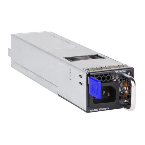 HPE Renew JL590A - Power supply - Black,Blue,Silver - HPE FlexFabric 5710 - 250 W - 305 mm - 51 mm (JL590A)